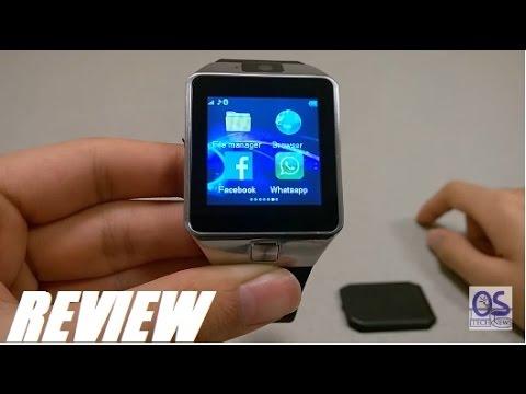 275d62f2b REVIEW: DZ09 - $15 Bluetooth SmartWatch Phone?! - YouTube