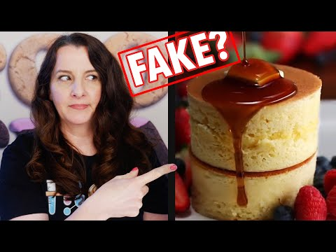 Fluffy Jiggly Japanese Pancake Recipe DEBUNKING Tasty | How To Cook That Ann Reardon