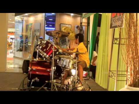 Perdamaian (Gigi) - Abi (play along drum cover)