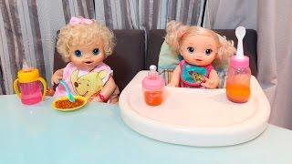 BABY ALIVE  na Hora do Jantar com BIA LOBO