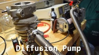 Fusor Update - Dead Turbo and New Diffusion Pump