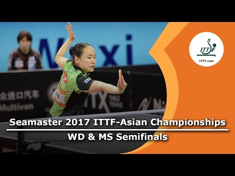 2017 ITTF-Asian Championships - WD &MS Semifinals