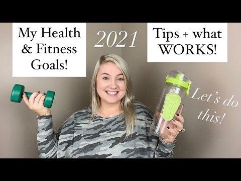 My Health & Fitness Goals 2021!