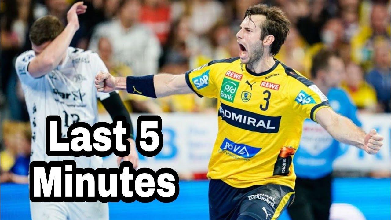 Rhein Nekar Lowen vs THW Kiel ● Last 5 Minutes ● 2020