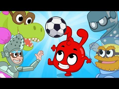 My Super Soccer Game - Heroes VS Villans   Kids Cartoons   Mila and Morphle
