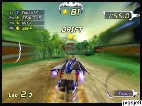 ExciteBots (Wii) - Online Races