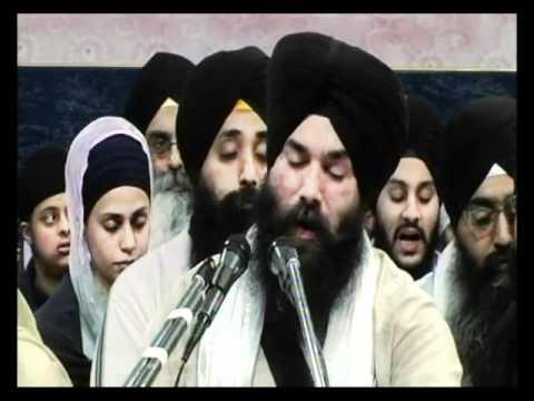 Bhai Ranjit Singh Ji (Jammu) - Rehnsabhai Kirtan @ Manchester Smagam 11DEC2010 - Full Video