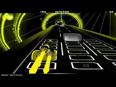 Italobrothers - Stamp on the Ground HD (Audiosurf)