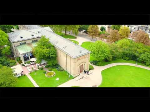 Baden-Baden 2017 Video (4K) | Kurhaus, Trinkhalle & Casino from above