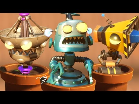 Plants vs. Zombies: Garden Warfare 2 - Every Spawnable Bot & Zombie!