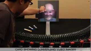 An Autostereoscopic Projector Array Optimized for 3D Facial Display - With Audio