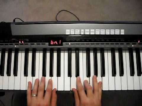 How To Play Dm Chord On Piano Youtube