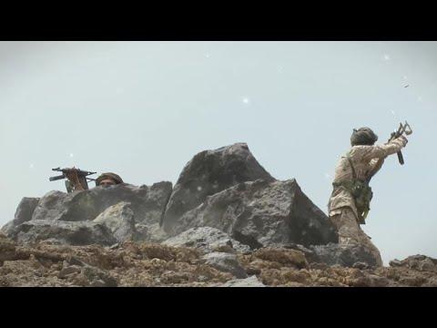 فيديو: جندي في الجيش الوطني يهاجم الحوثيين وقوات صالح منفرداً في صرواح