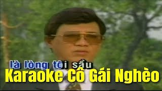 Karaoke Cô Gái Nghèo - Thanh Sang Mỹ Linh