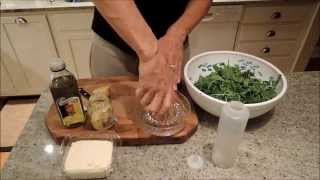 How To Make Arugula Salad With Avocado, Parmesan Cheese And Lemon Vinaigrette - Episode 9