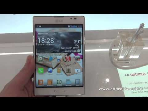 LG Optimus Vu:II, anteprima in italiano by AndroidWorld.it