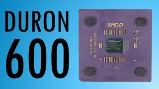 How does the first Duron compare to the Pentium III?