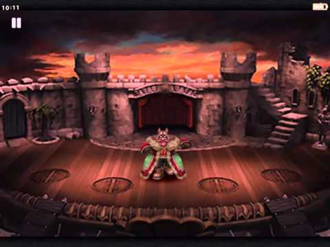 Final Fantasy IX Gameplay on iPad