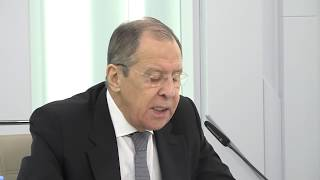 С.Лавров в ходе лекции для студентов МГИМО (У), Москва, 27 апреля 2020 года