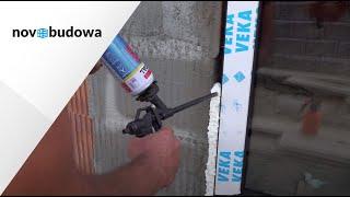 Prawidłowy montaż okna w murze z porothermu z użyciem powłok uszczelniających