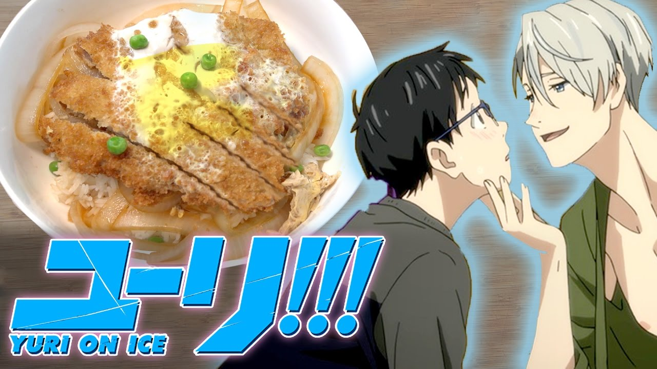 How to Make PORK KATSUDON from YURI ON ICE!! Feast of