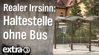 Realer Irrsinn: Bushaltestelle nicht für Busse geeignet