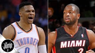 Russell Westbrook should call Dwyane Wade for advice after Rockets trade - Dave McMenamin | The Jump