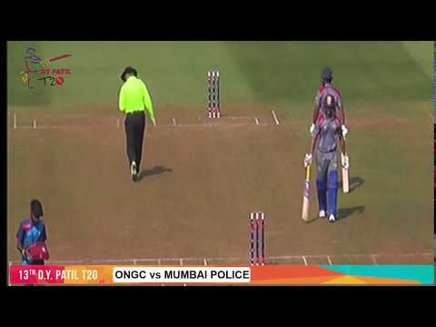 13th DYPT20 - ONGC vs. Mumbai Police