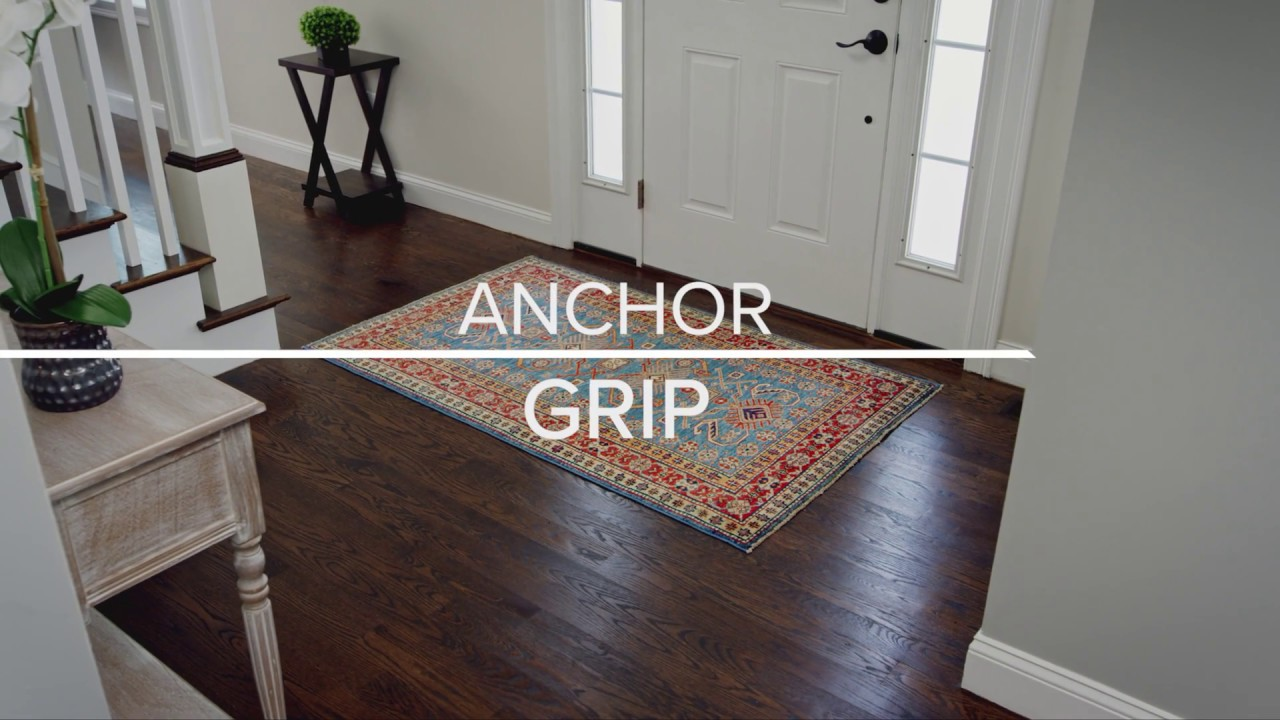 Anchor Grip Rug Pad Youtube