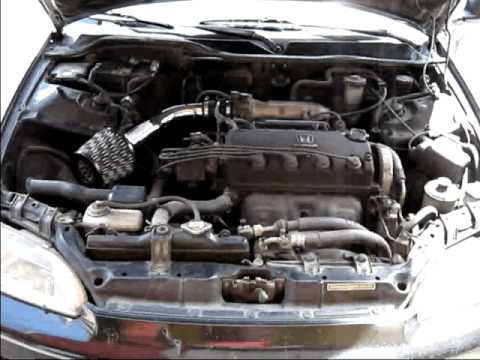 Kit de admisión directa Honda Civic 94 (filtro de aire ...
