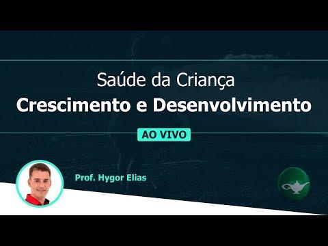 Saúde da Criança - Crescimento e Desenvolvimento | Prof. Hygor Elias | 19/02 às 19h