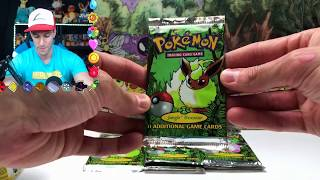 Opening 15 RARE Pokemon Booster Packs! (Jungle Series)