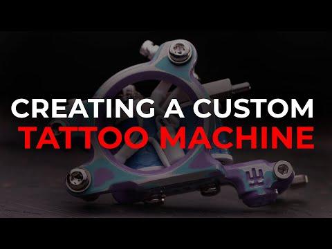 Creating A Custom Tattoo Machine