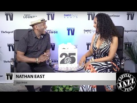 Nathan East Interview - 2017 Capital Jazz Fest