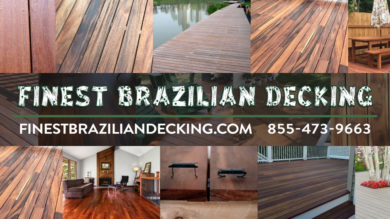 Brazilian Decking Online - Nationwide Delivery - Brazilian Decking Online