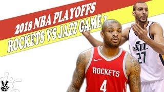 Houston Rockets Vs Utah Jazz Game 3 - 2018 NBA PLAYOFFS thumbnail