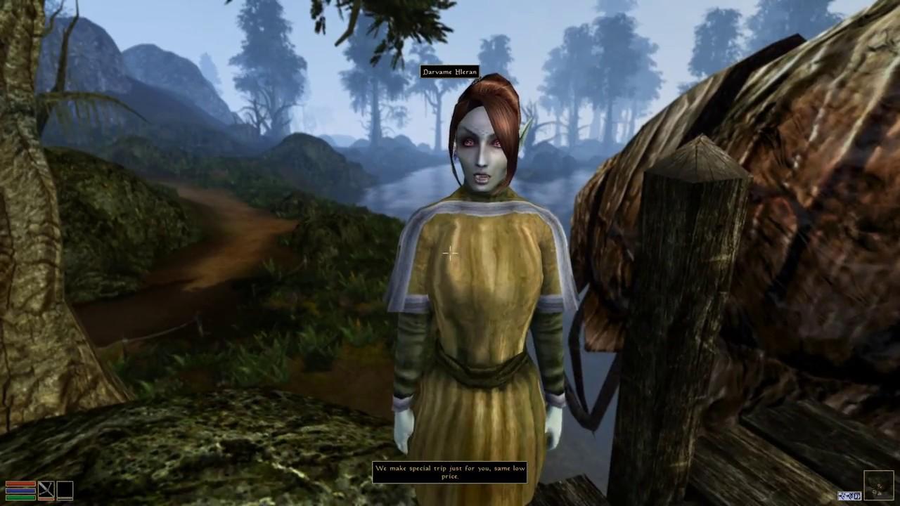 Best Morrowind Mods 2020 Elder Scrolls III: Morrowind Ultra Graphics Mod(s)   YouTube