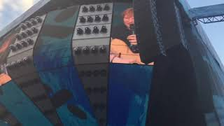 Small talk & Dive - Ed Sheeran • Ullevi Stadium, Gothenburg 2018