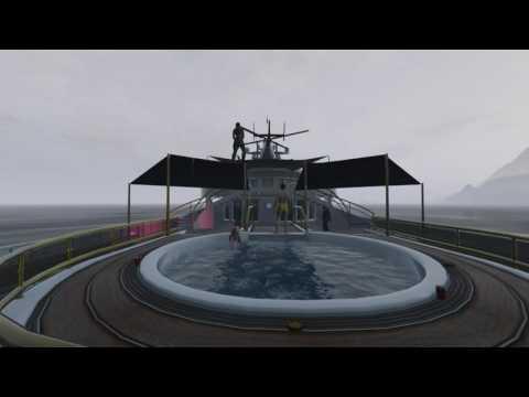 GTA Rockstar Editor - Yacht times (Funny Scene)