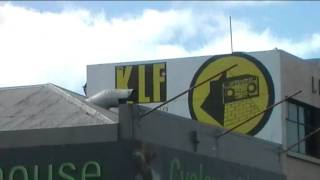 KLF justified and ancient original billboard/mural drive-by