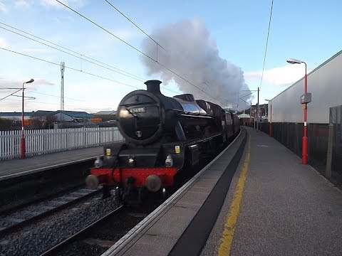 Mainline Steam At Speed January-March 2015
