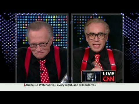 CNN: 'Larry King' questions Larry King