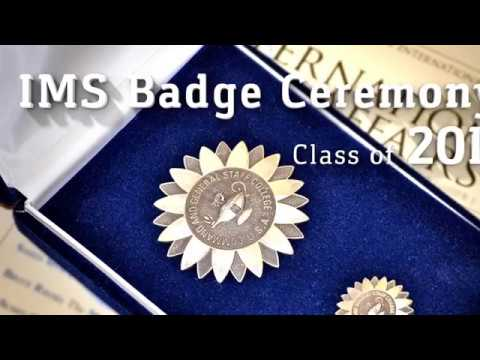 IMS Badge Ceremony 2017