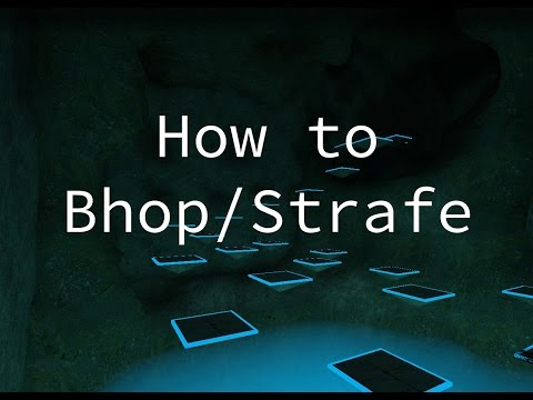 How to Bhop/Strafe in CSGO Bhop servers