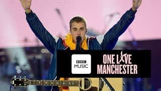 Justin Bieber - Cold Water (One Love Manchester)
