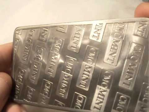 1 troy oz .999 fine titanium bullion bar