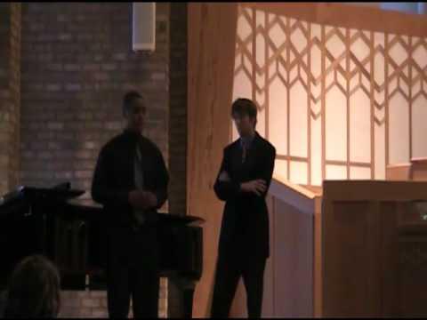 Tenor and Baritone Duet