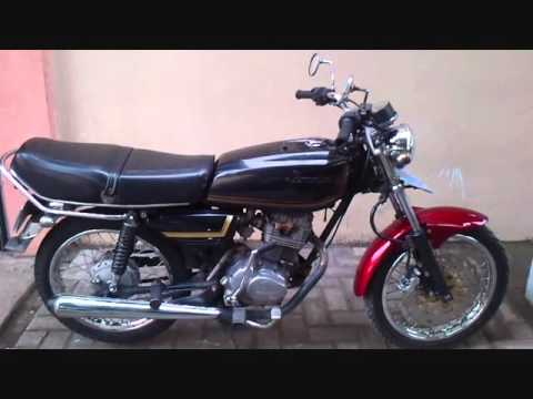 Racing Motorcycle Modifikasi Honda Gl 100 Tahun 79 Youtube