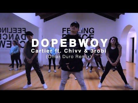 DOPEBWOY - Cartier ft. Chivv & 3robi (Omar Duro remix) - Coreografía Kaphar