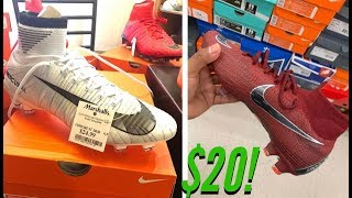 $20 CR7 SUPERFLY! Soccer Deal Hunt Vlog + DOTW